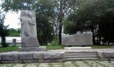 Памятник студентам и преподавателям строительного института, погибшим в годы Великой Отечественной войныны